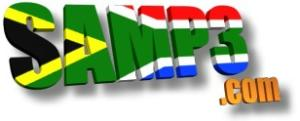 The South African MP3 website  (logo designed by Peter Hanmer, August 2002)